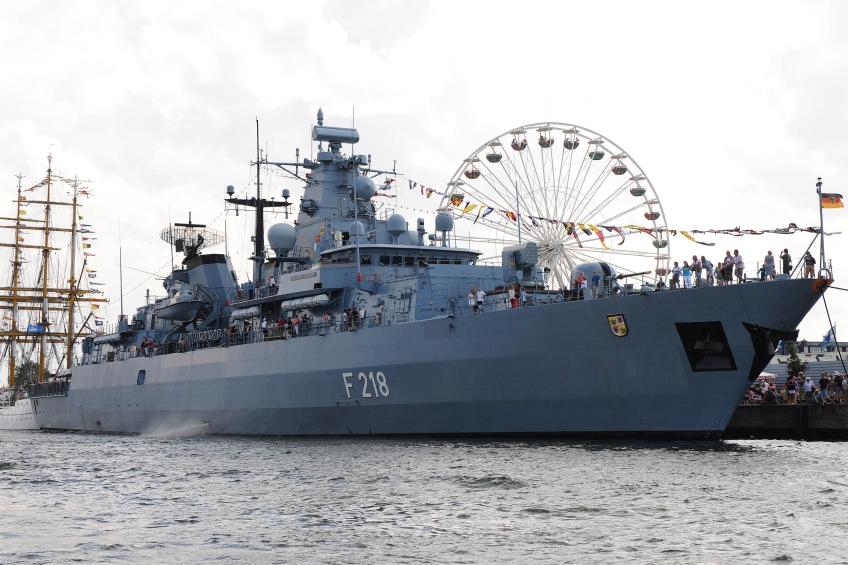 Hanse Sail Fregatte