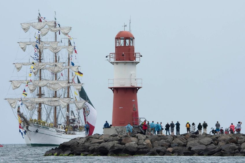 Hanse Sail Cuauhtemoc Warnemünde