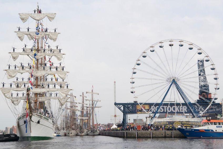 Hansesail Cuauhtemoc Stadthafen