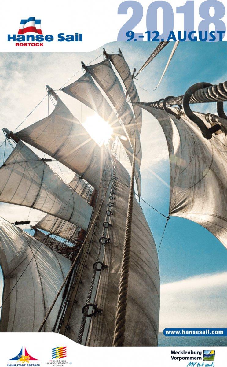 Cover Kalender Hanse Sail 2018
