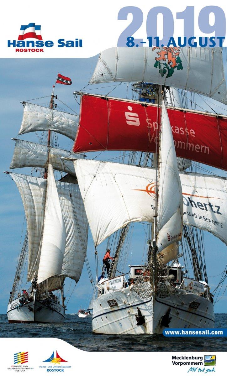 Cover Kalender Hanse Sail 2019