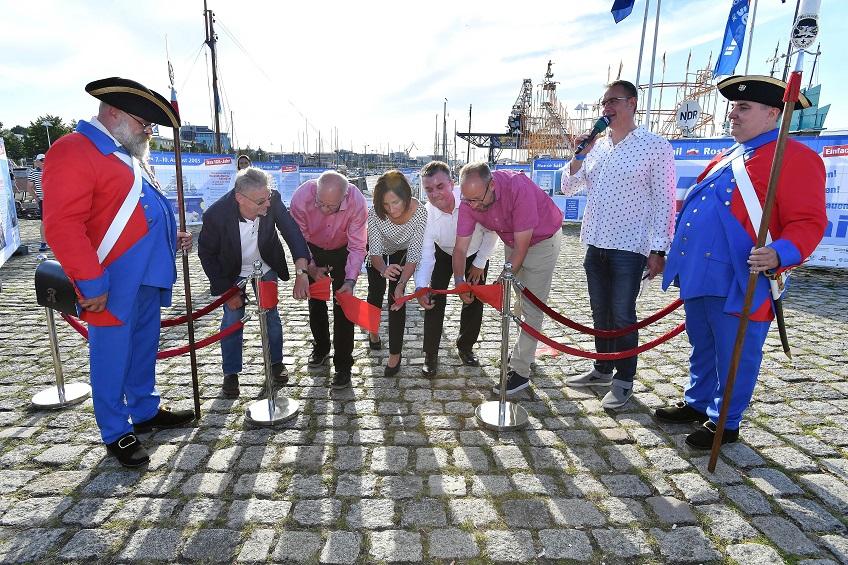 Eröffnung Ausstellung 29 Jahre Hanse Sail