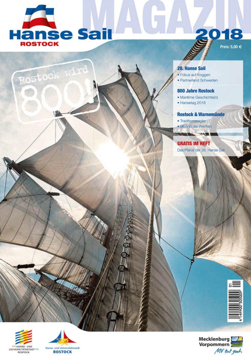 Hanse Sail Magazin Cover 2018