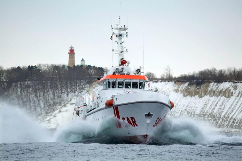 Hanse Sail Ausstellung Seenotretter