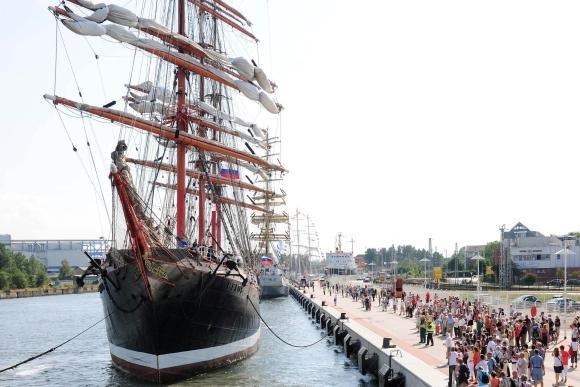 Hanse Sail Rostock Sedov