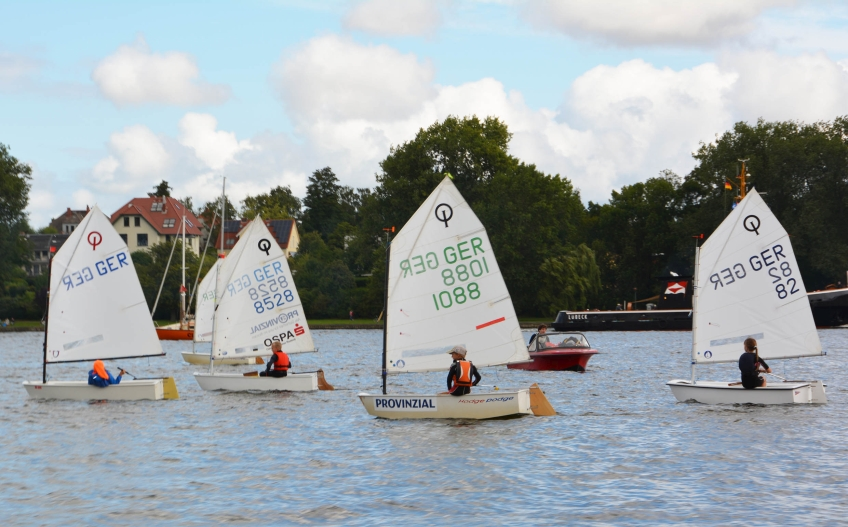 Hanse Sail Segelstation