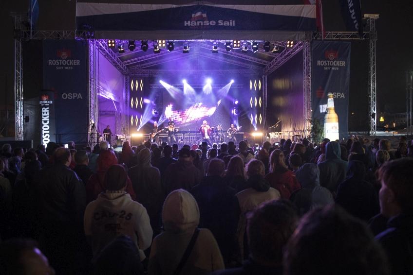 Bühnen auf der Hanse Sail 2018
