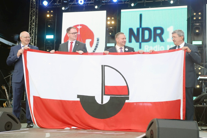 Hansetag 2018 Flaggenübergabe