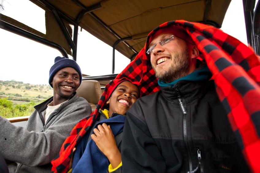 Jeepfahrt durch Kenia André Schumacher