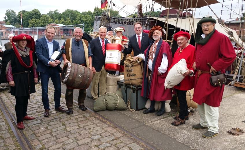 Beladung Lisa von Lübeck