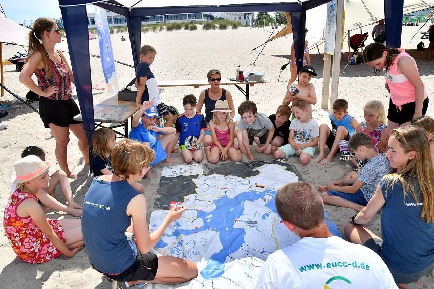 Ostseestrand statt Klassenzimmer