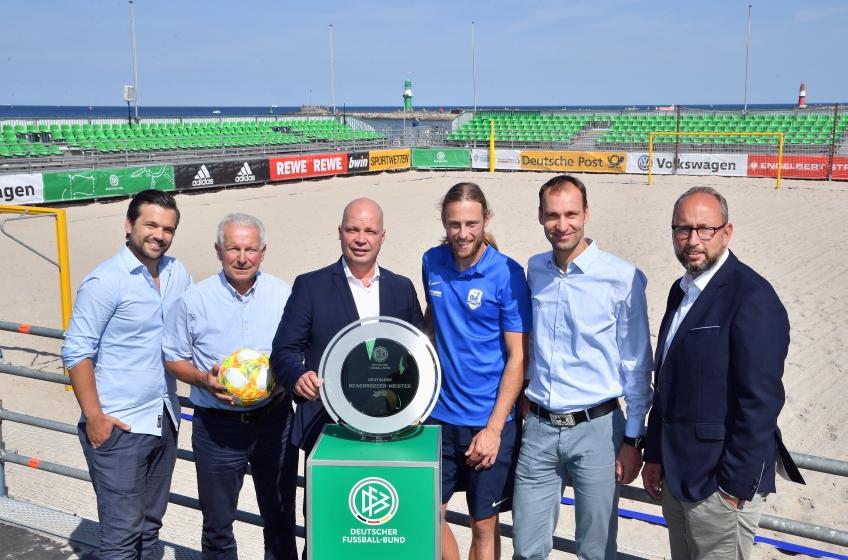 Pressekonferenz Deutsche Beachsoccer Meisterschaft 2019