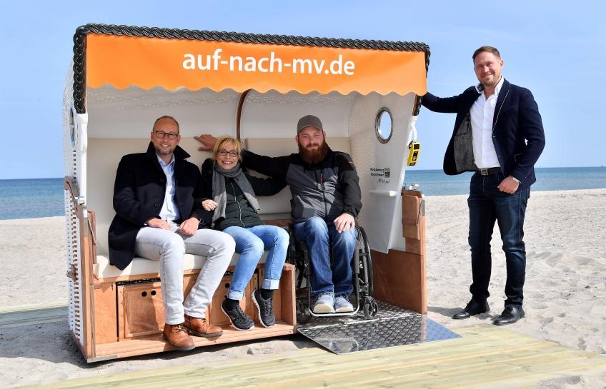 Strandkorb für Alle